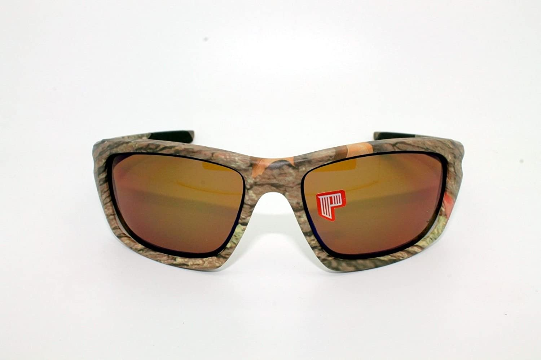 Oakley Gafas de sol OO9236 - 13 Válvula Woodland camuflaje marco lentes polarizadas Gafas de sol 60 - 16: Amazon.es: Deportes y aire libre