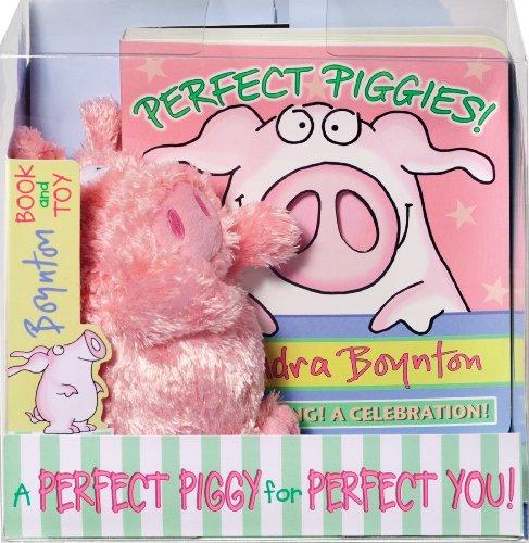 Perfect Piggies! Book and Plush Set (Boynton on Board) (Boynton Stuffed Animals)