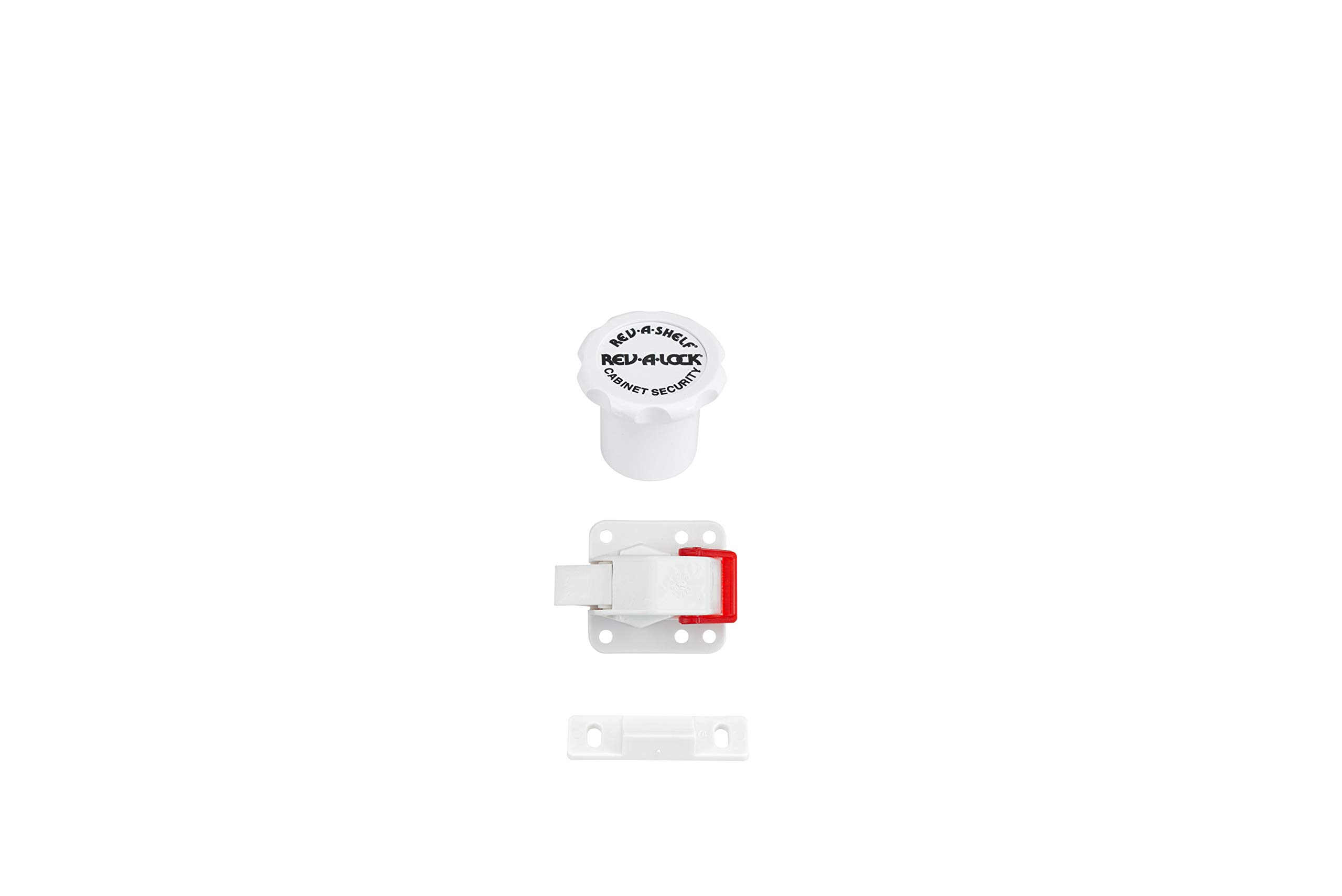 Rev-A-Shelf - RAL-101-1 - Rev-A-Lock Cabinet Security System by Rev-A-Shelf