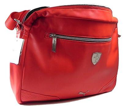 49d09e62d35b Image Unavailable. Image not available for. Color  PUMA Ferrari Reporter Bag  Ls Travel Handbag Red Unisex
