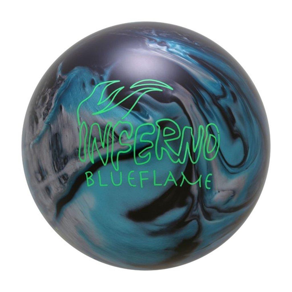 BrunswickヴィンテージInfernoボーリングボールLimited edition-ブルーFlame B0749RK79C   15lbs