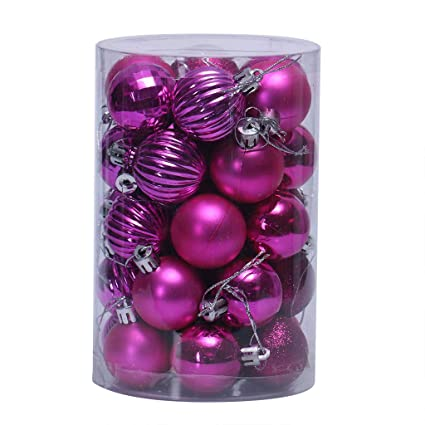 Bulk Christmas Ornaments.Amazon Com 34pcs Christmas Balls Ornaments Christmas
