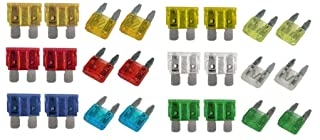 All Trade Direct 25 X 25 Amp Glass Fuse 30Mm Auto Car Classic Tractor