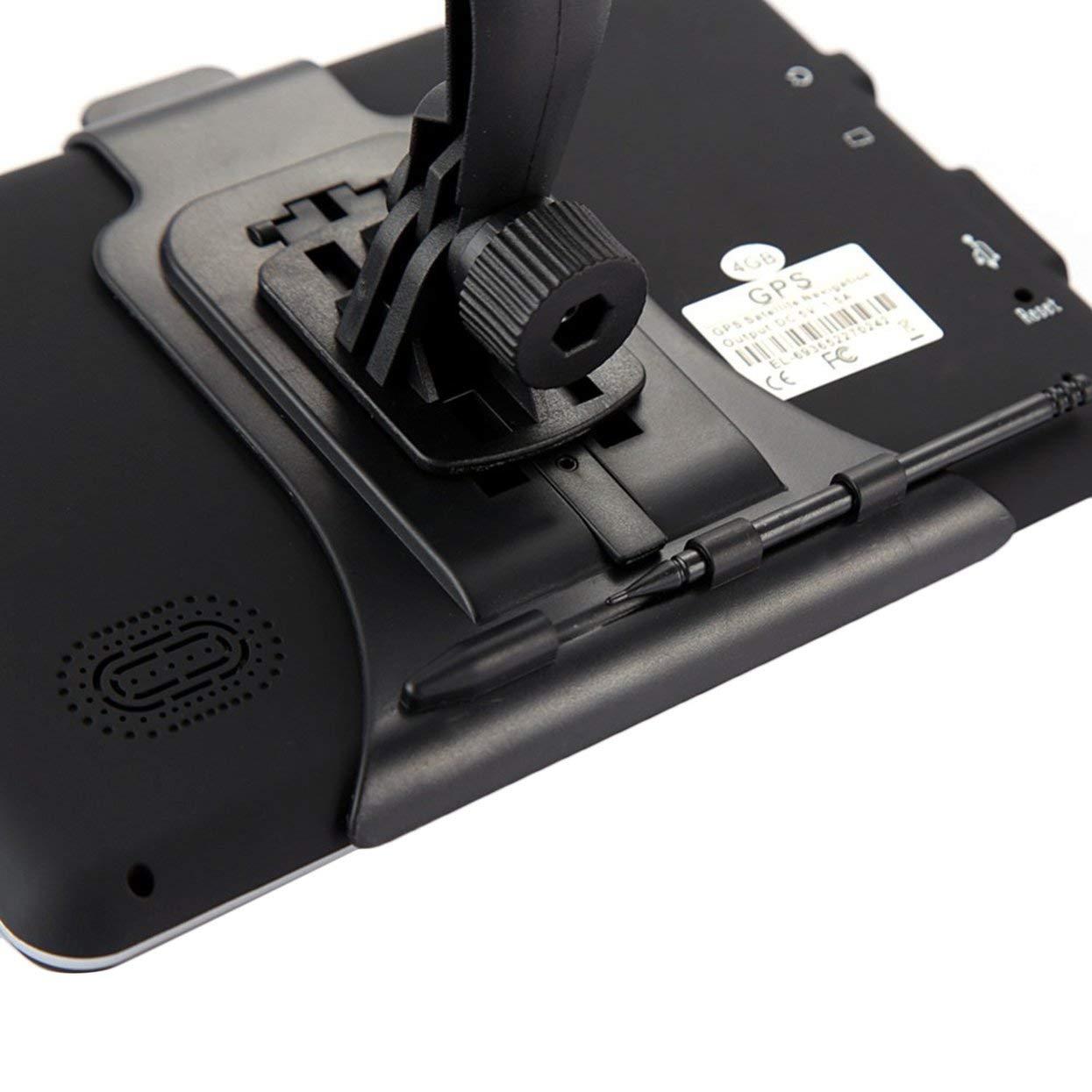Pantalla capacitiva Posici/ón precisa Tellabouu for 710 Sensor t/áctil 8GB Navegador FM C/ámara de Marcha atr/ás 256M Navegaci/ón GPS para Camiones de 7 Pulgadas