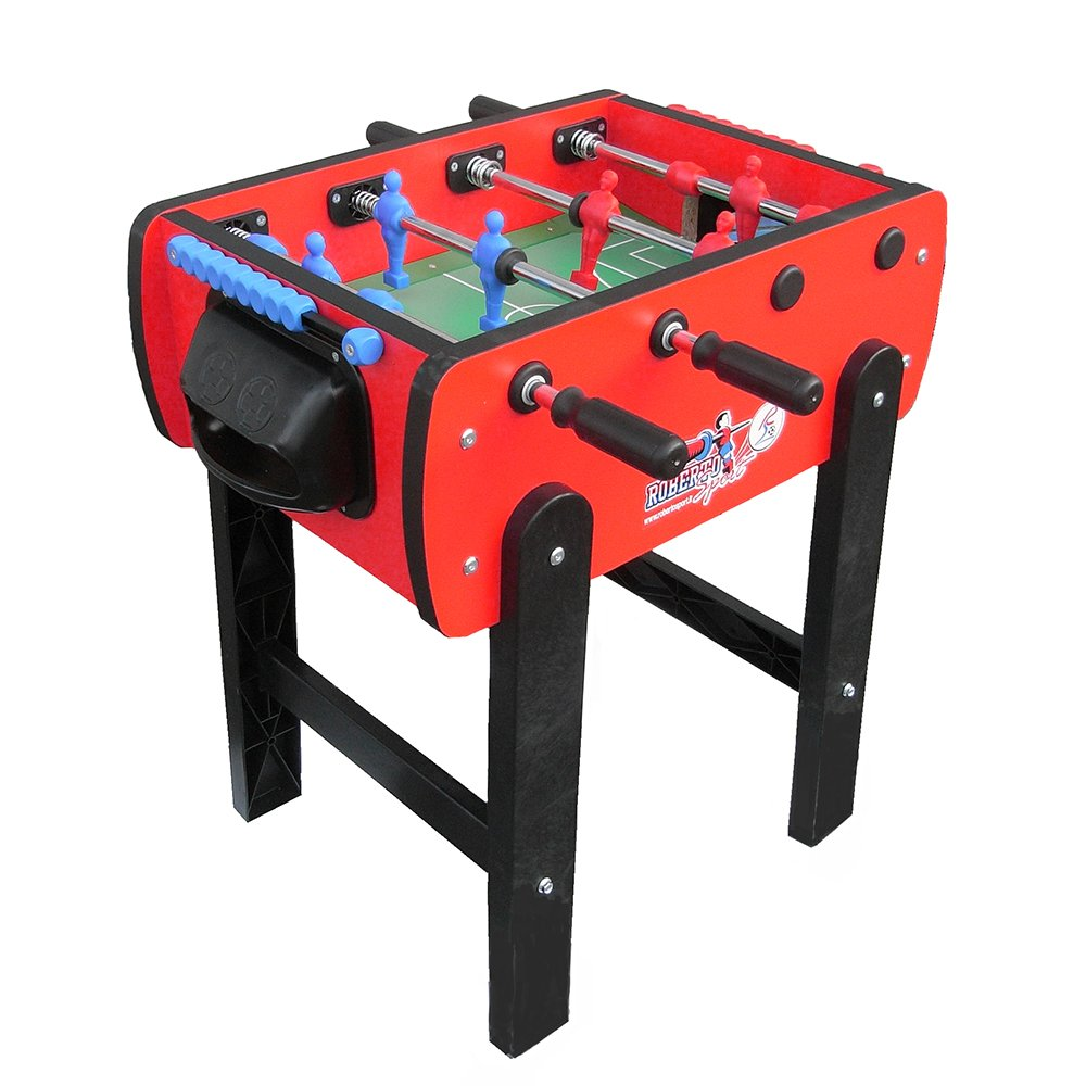 Roberto Sport Roby Red Foosball Table by Roberto Sport