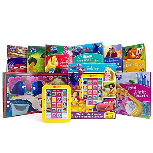 Disney's Electronic Reader and 8-Book Library