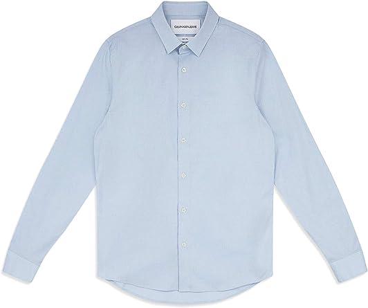 Calvin Klein J30J313171 Camisa Hombre: Amazon.es: Ropa y accesorios