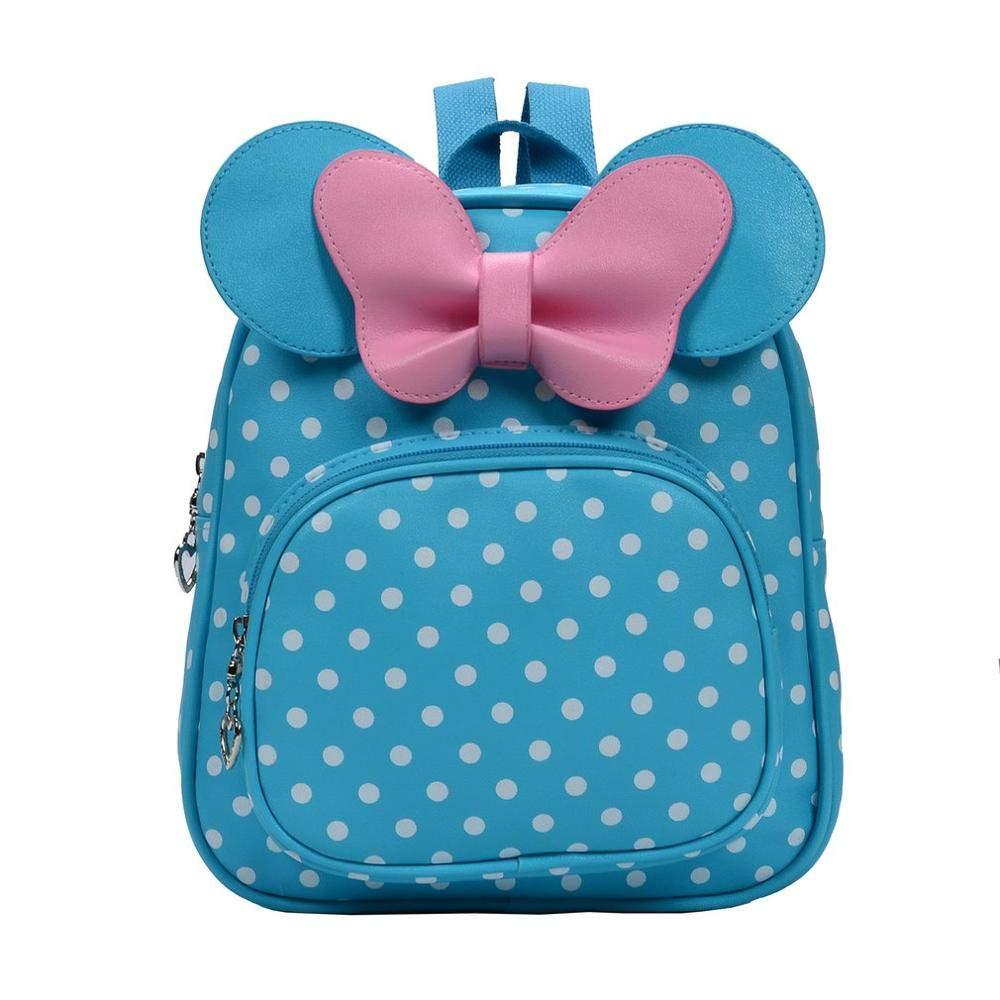 Amazon.com: 2018 Cute Bow Tie Minnie Mochila Cartoon Small School Backpack Mini for Girl Toddler Bacpback Kanken Bolsa: Kitchen & Dining