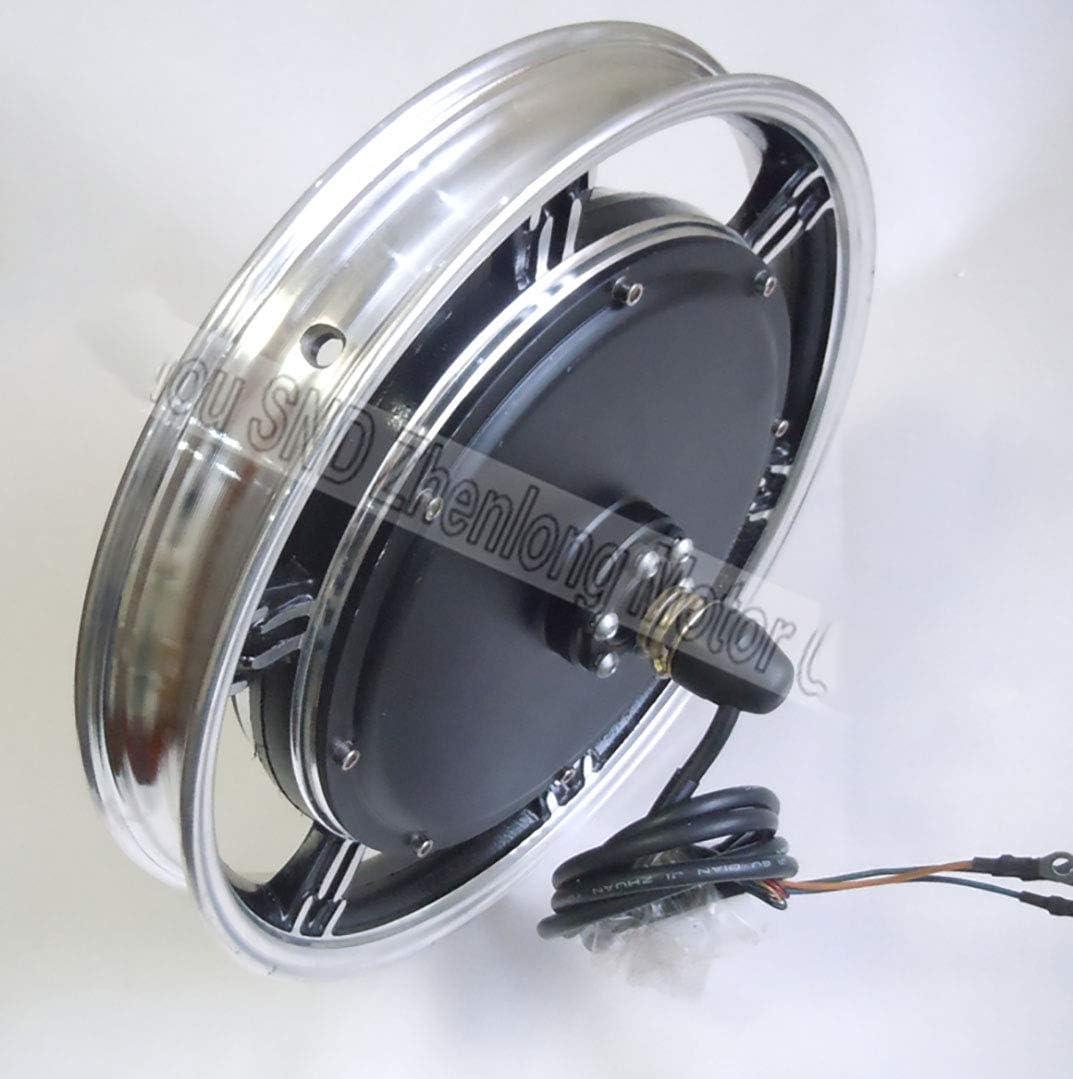 GZFTM Motor eléctrico para Bicicleta eléctrica con Horquilla de ...