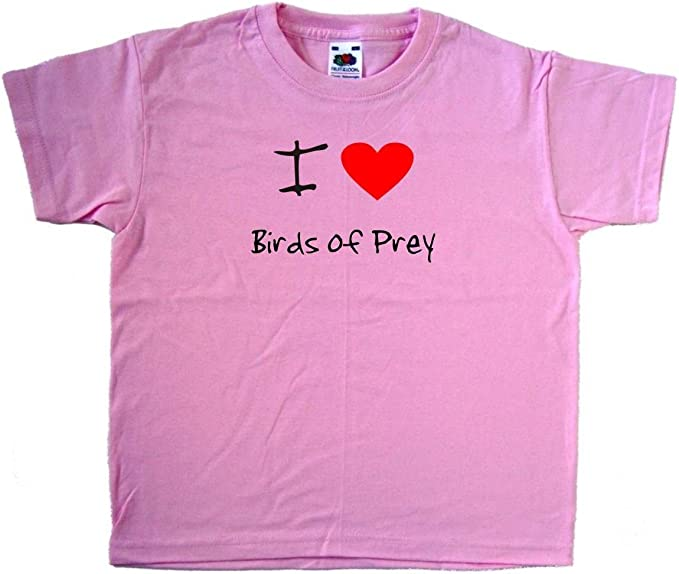 I Love Heart Birds T-Shirt