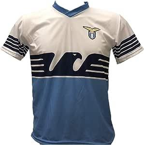 Camiseta de fútbol Lazio Sergej Milinkovic-Savic 21 Réplica Autorizada 2018-2019 Niño (Tallas 6 8 10 12) Adulto (S M L XL) - Sergej Milinković-Savić: Amazon.es: Deportes y aire libre