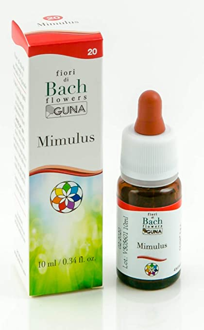 Fiori Di Bach.Mimulus 10 Ml Fiori Di Bach Gu Amazon Co Uk Health Personal Care