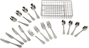 17-Piece Melissa & Doug Stainless Steel Mealtime Utensil Set