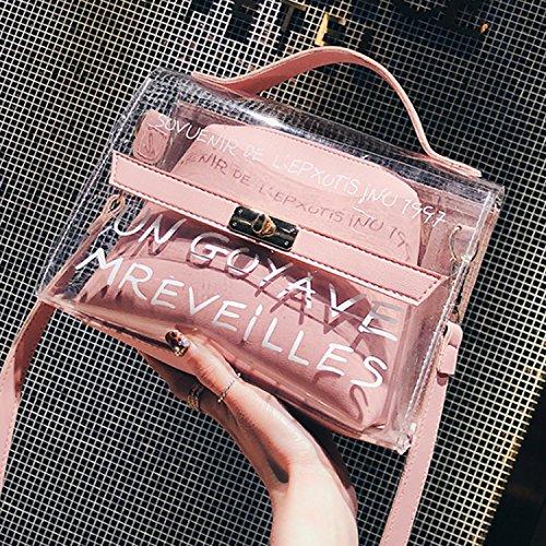 Negro Bolso Borsa Para Donna Al Dream3 Hombro Mujer Di Rosa A Tracolla Per Colore 4wqFnS
