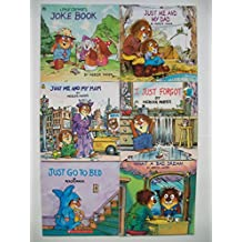 Little Critter (6 Set) Joke Book; Just Me and My Dad; Just Go to Bed; What a Bad Dream
