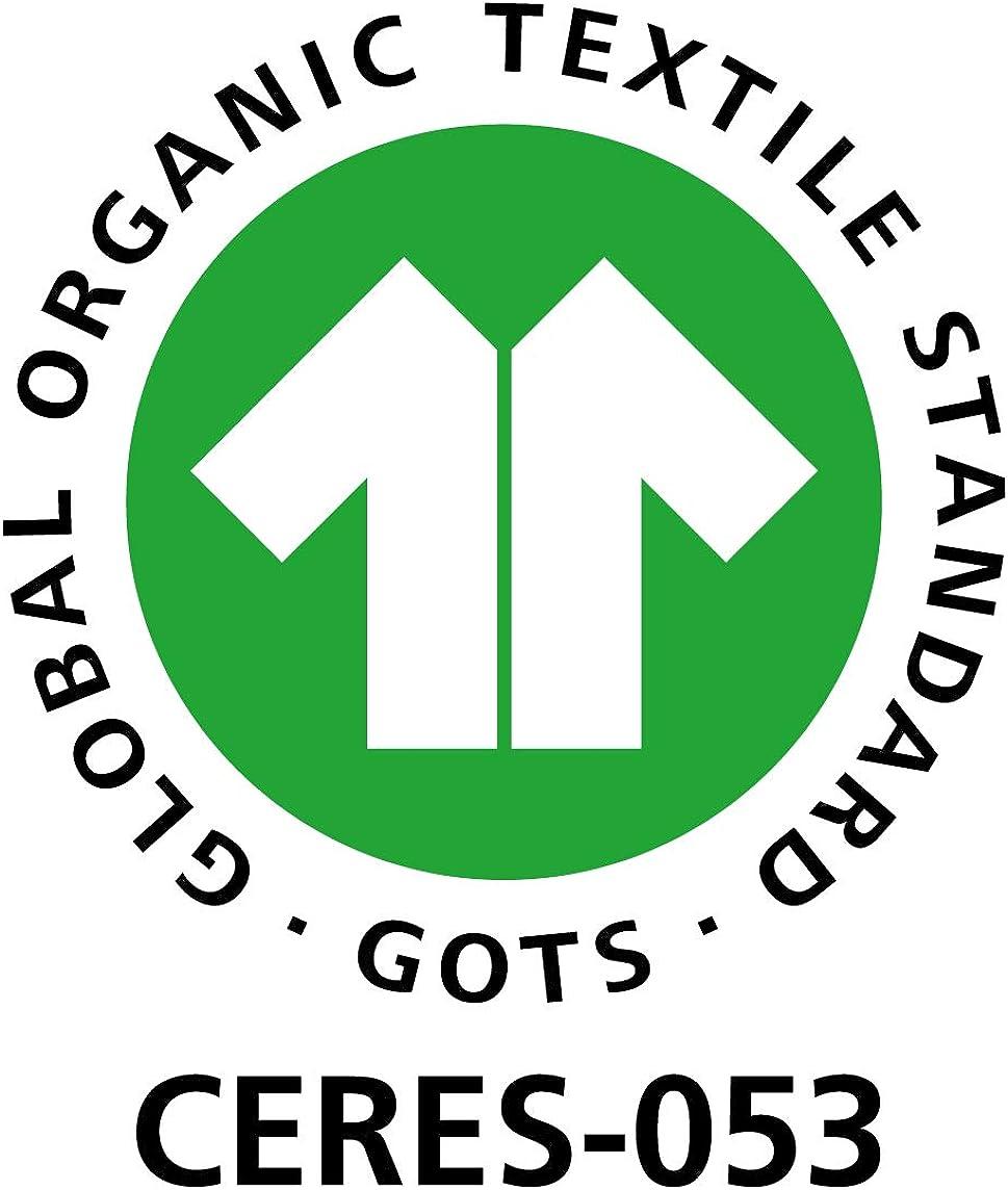 loud proud Body Langarm mit Druck aus Bio Baumwolle GOTS Zertifiziert Tuta Intera Unisex-Bimbi