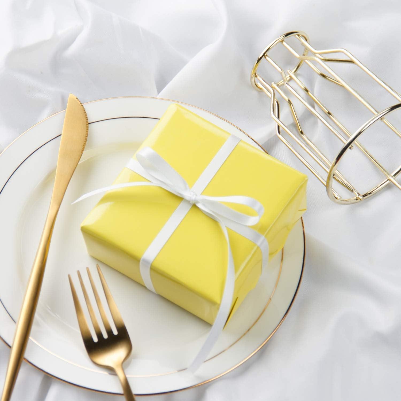 Geburtstag Goldfolie 20,5 X 10,2 X 25,5 cm Babyparty 12Er Pack Braune Papiert/üten Mit Griffen F/ür Hochzeit Partyartikel RUSPEPA Mittelgro/ße Geschenkt/üten Danke