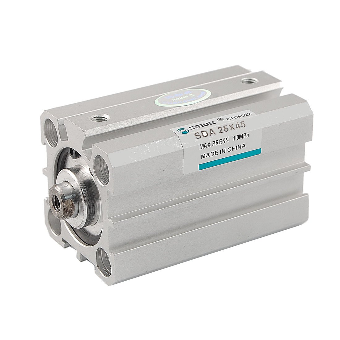 SDA 25mm Bore 45mm Stroke Pneumatic Air Cylinder 1.0MPa Sourcingmap a12030500ux0036