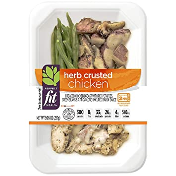 Perfect Fit Meals Herb Crusted Chicken 905 Oz Amazon Grocery