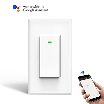 Wi fi smart wall light switch 1 pack omoton wireless timing wi fi smart wall light switch 1 pack omoton wireless timing switch mozeypictures Choice Image