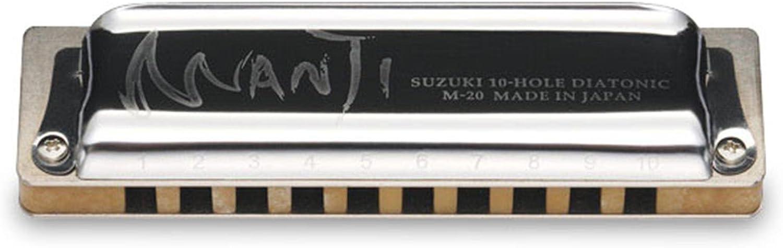 Suzuki SU-M-20-Eb - Armónica en Mi bemol: Amazon.es: Instrumentos ...