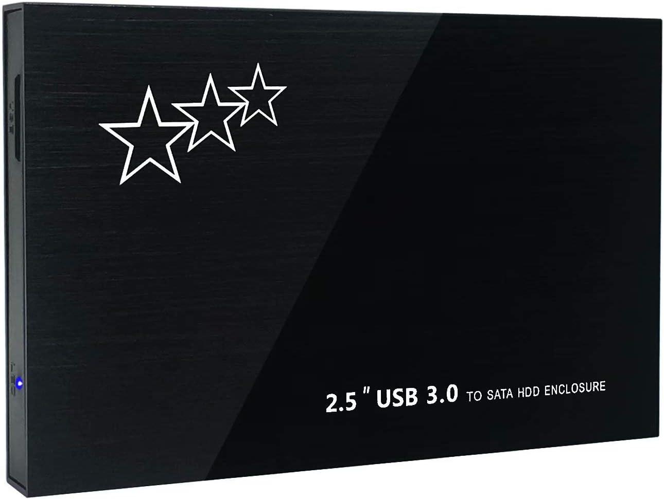 1TB External Hard Drive Portable - HWAYO 2.5'' Ultra Slim HDD Storage USB 3.0 for PC, Laptop, Mac, Chromebook, Xbox One