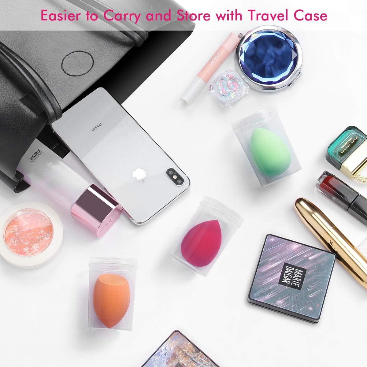 Maquillaje Esponjas, Belicoo Beauty Blender, 6Pcs Látex Gratis ...