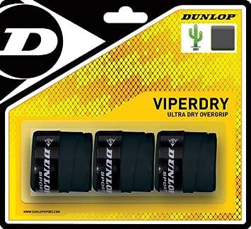 DUNLOP Overgrip Viper Dry Pack 3-NE: Amazon.es: Deportes y ...
