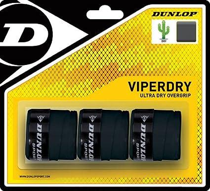 Dunlop Overgrip Viper Dry Pack 3-NE: Amazon.es: Deportes y aire libre