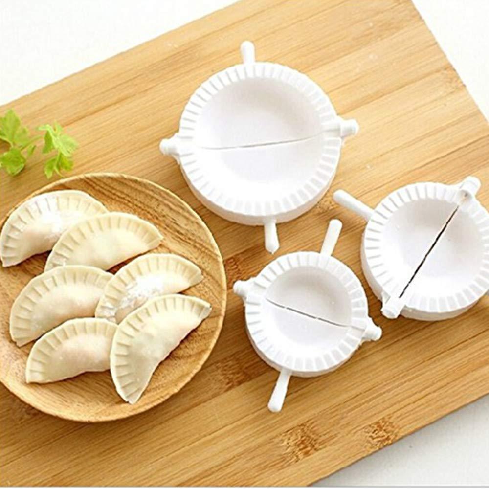 Compra DIVISTAR Prensa Ravioli Dough Pastel Dumpling Maker Gyoza Empanada Molde Herramienta, 3 Piezas en Amazon.es