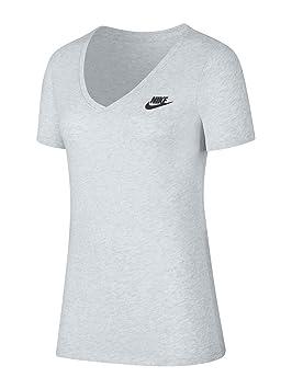 Nike W NSW tee Vneck Lbr Camiseta, Mujer: Amazon.es: Deportes y aire libre