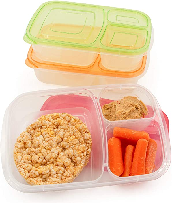 The Best California Home 3 Compartment Food Container