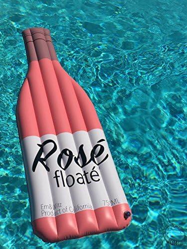 Amazon.com: The Rosé Floaté - Flotador de piscina, flotador ...