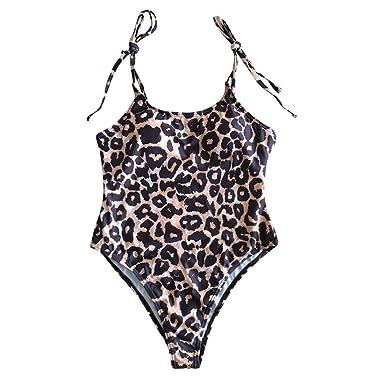 28a49cabe96 zycShang Swimsuit Ladies, Beachwear and Swimwear Monokini Swimsuits For  Women Sexy O-Neck Thong One Piece: Amazon.co.uk: Clothing