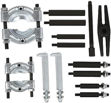 14PC DOS Divisor separador rodamiento engranaje extractor de 2 y 3 las ruedas de polea