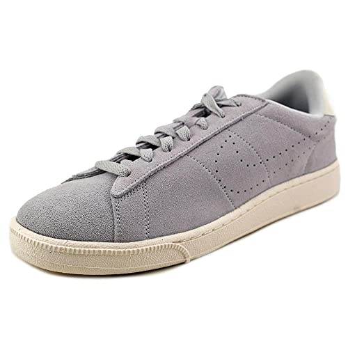 new product f24cf a991e Nike Tennis Classic CS Suede Mens Trainers 829351 Sneakers Shoes (US 6,  Metallic Platinum