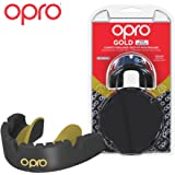 Opro Gold Level Mouthguard for Braces | Gum Shield for Hockey, Rugby, Boxing, and Other Contact Sports - 18 Month Dental Warranty
