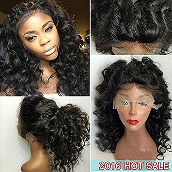 EVA HAIR Glueless Lace Front Human Hair Wigs