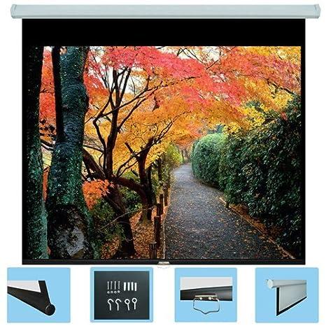 Rolloleinwand Format: 16:9 Bilddiagonale ULTRALUXX /© Soft Return Beamer Leinwand Rollo-Leinwand 220 x 125 cm Projektionsfl/äche 254 cm 100 Zoll Gesamtbreite: 238 cm