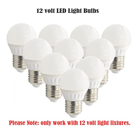 12 Volt LED RV Light Bulbs, Low Voltage,12V AC/12V DC,