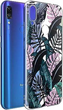 ZhuoFan Funda Xiaomi Redmi Note 7, Cárcasa Silicona Transparente ...