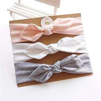 Amazon.com: Newborn Headband Set Arrivals Rabbit Ear Bow ...
