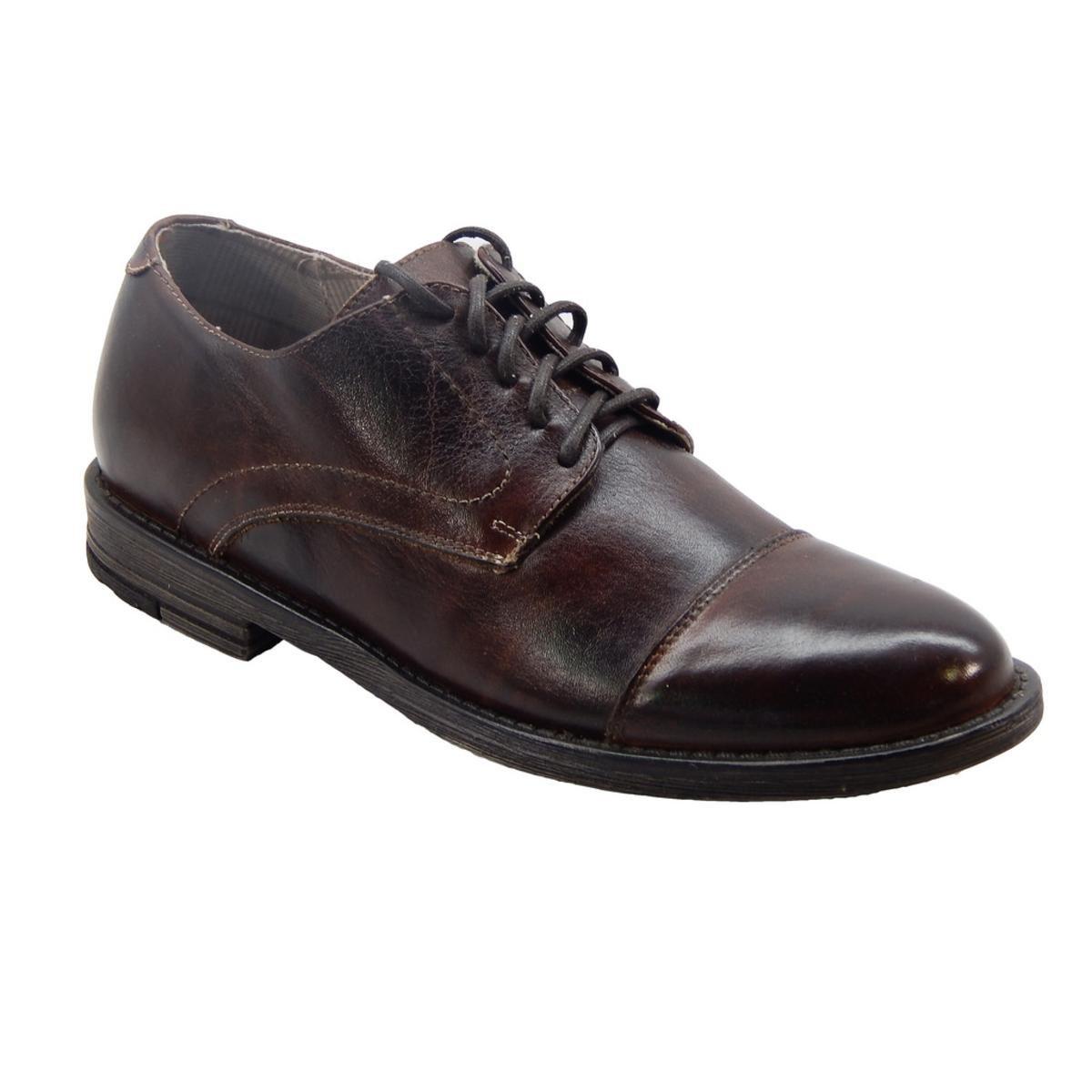 BED STU Damien Mens Teak Rustic Loafers