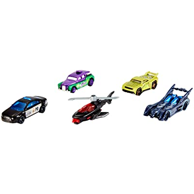 Hot Wheels Batman 5-Pack: Toys & Games