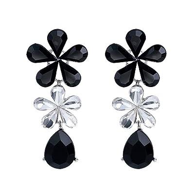 a5ce32cf47 Amazon.com  Ai.Moichien Women Silver Drop Dangle Earrings Triangle ...