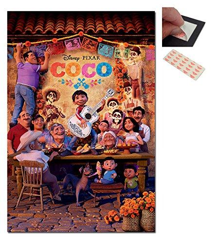 Coco Pixar Disney Family Poster - 91.5 x 61cms