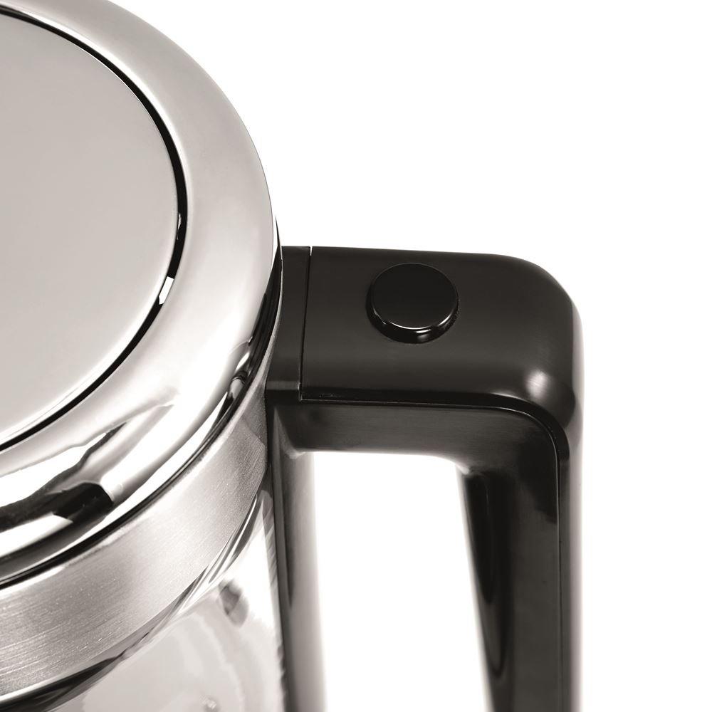 "WMF CE"" Kitchenminis Glass Kettle Vario, Stainless Steel, Silver, 25.5 x 21  x 25.5 cm- Buy Online in Egypt at desertcart.com.eg. ProductId : 63692344."
