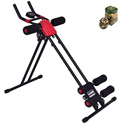 31ff4ebb00 Image Unavailable. Image not available for. Color  COSTWAY Ab Power Fitness  Abdominal Trainer ...