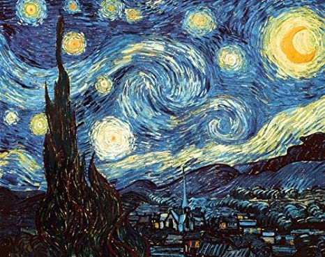4f75b4cffd6192 Starry Night by Vincent Van Gogh Poster Print  Amazon.ca  Home   Kitchen