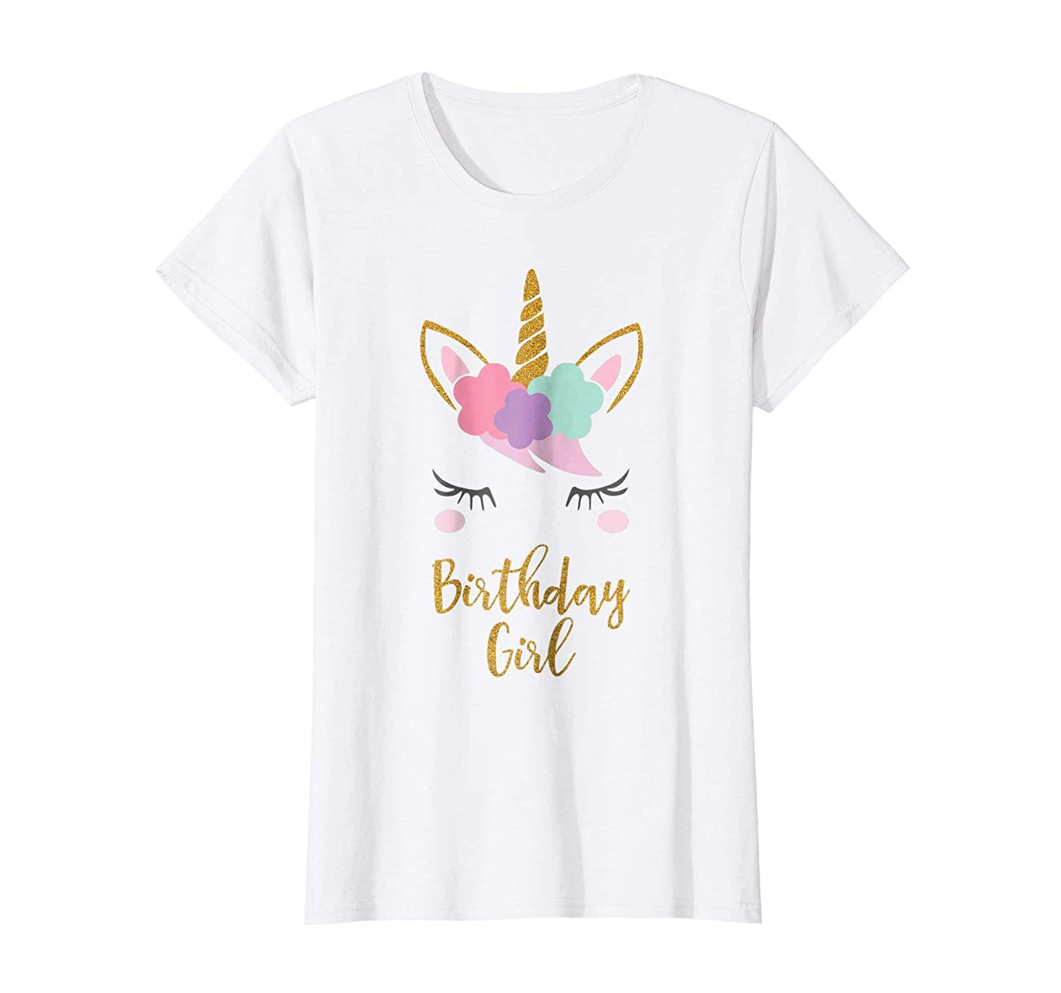 Amazon.com  Unicorn Birthday T-Shirt, Unicorn Gift, Birthday Outfit   Clothing 5f490bf21da8